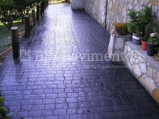 Adoquin feston riv pavimentos cantabria vizcaya asturias for Hormigon impreso vizcaya