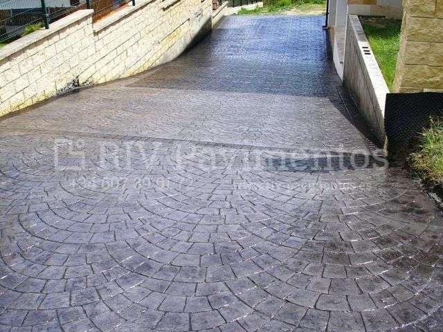 Piedra europeo riv pavimentos cantabria vizcaya asturias for Hormigon impreso vizcaya