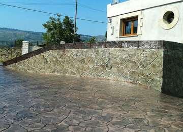 Piedra Tematizada -  OBRA EN PAMANES,2014,CANTABRIA