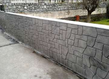 Piedra Tematizada -  OBRA EN NOJA,CANTABRIA,2014