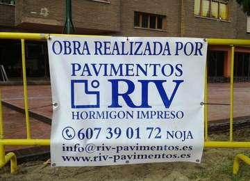 RIV PAVIMENTOS - OBRA EN SANTANDER,CANTABRIA,2015.