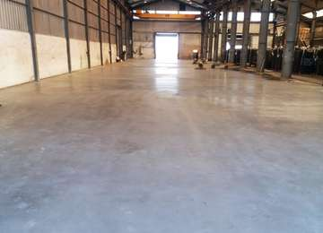 Hormigon Pulido - Nave industriale. Interior