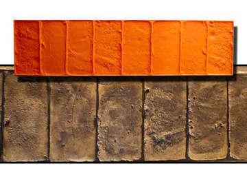 Cenefa Ladrillo Tosco 83x21cm